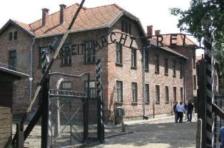 Eingang Stammlager Auschwitz I